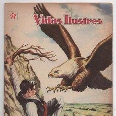 Tebeos: VIDAS ILUSTRES # 50 NOVARO 1960 SANTIAGO RAMON Y CAJAL MUY BUEN ESTADO. Lote 70122082
