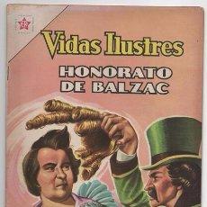 Tebeos: VIDAS ILUSTRES # 82 NOVARO 1962 HONORATO DE BALZAC MUY BUEN ESTADO. Lote 62691492