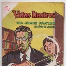 Tebeos: VIDAS ILUSTRES # 101 NOVARO 1964 SIR JAMES FRAZER CIENTIFICO DE LA MAGIA BUEN ESTADO. Lote 62710596