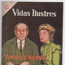 Tebeos: VIDAS ILUSTRES # 106 NOVARO 1964 AMADO NERVO EL ENAMORADO DEL MISTERIO MUY BUEN ESTADO. Lote 62710980