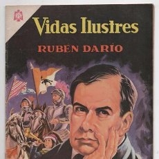 Tebeos: VIDAS ILUSTRES # 138 NOVARO 1966 EL NICARAGUENSE FELIX RUBEN DARIO MUY BUEN ESTADO. Lote 62714412