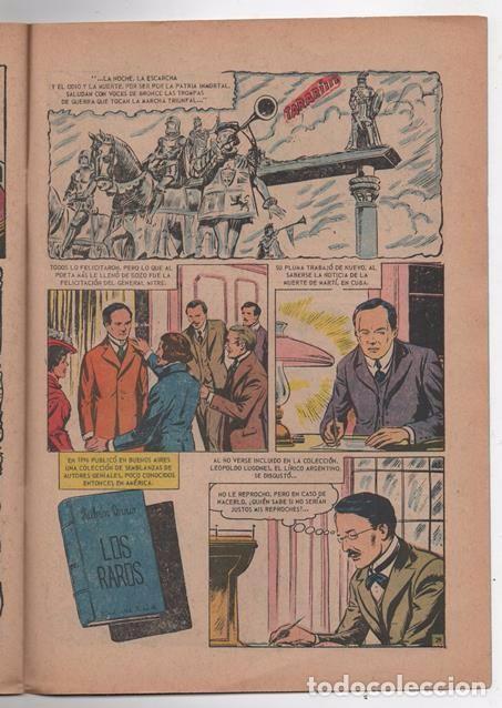 Tebeos: VIDAS ILUSTRES # 138 NOVARO 1966 EL NICARAGUENSE FELIX RUBEN DARIO MUY BUEN ESTADO - Foto 3 - 62714412
