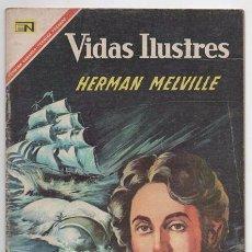 Tebeos: VIDAS ILUSTRES # 162 NOVARO 1967 HERMAN MELVILLE MOBY DICK MUY BUEN ESTADO. Lote 62714688