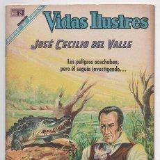Tebeos: VIDAS ILUSTRES # 182 NOVARO 1968 HONDURAS JOSE CECILIO DEL VALLE MUY BUEN ESTADO. Lote 62715344