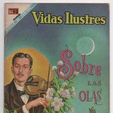 Tebeos: VIDAS ILUSTRES # 192 NOVARO 1968 MEXICO JUVENTINO ROSAS MUSICO COMPOSITOR BUEN ESTADO. Lote 62715380