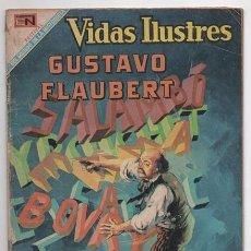 Tebeos: VIDAS ILUSTRES # 216 NOVARO 1968 GUSTAVO FLAUBERT MADAME BOVARY BUEN ESTADO. Lote 62715404