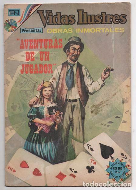 VIDAS ILUSTRES # 323 NOVARO 1973 CHARLES DICKENS ALMACEN DE ANTIGUEDADES AVENTURAS DE UN JUGADOR (Tebeos y Comics - Novaro - Vidas ilustres)