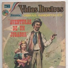 Tebeos: VIDAS ILUSTRES # 323 NOVARO 1973 CHARLES DICKENS ALMACEN DE ANTIGUEDADES AVENTURAS DE UN JUGADOR . Lote 62739176