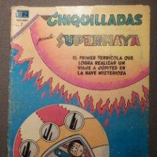 Tebeos: TEBEO - CHIQUILLADAS SUPERMAYA - AÑO XVIII - Nº 183 .- 24 DE JULIO DE 1970 - LA NAVE MISTERIOSA. Lote 62800656
