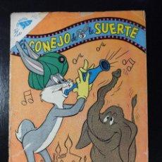 Tebeos: EL CONEJO DE LA SUERTE Nº 121 EDITORIAL NOVARO , AÑOS 60. Lote 62931920