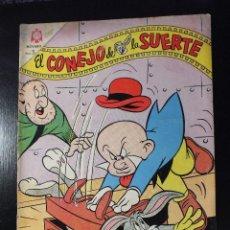 Tebeos: EL CONEJO DE LA SUERTE Nº 205 EDITORIAL NOVARO , AÑOS 60. Lote 62933532