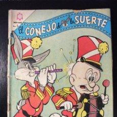Tebeos: EL CONEJO DE LA SUERTE Nº 245 EDITORIAL NOVARO , AÑOS 60. Lote 62933700