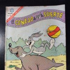 Tebeos: EL CONEJO DE LA SUERTE Nº 251 EDITORIAL NOVARO , AÑOS 60. Lote 62933860