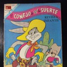Tebeos: EL CONEJO DE LA SUERTE Nº 290 EDITORIAL NOVARO , AÑOS 60. Lote 62934304