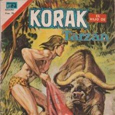 Tebeos: KORAK (EL HIJO DE TARZAN) SERIE AGUILA ABRIL DE 1977). Lote 63441300