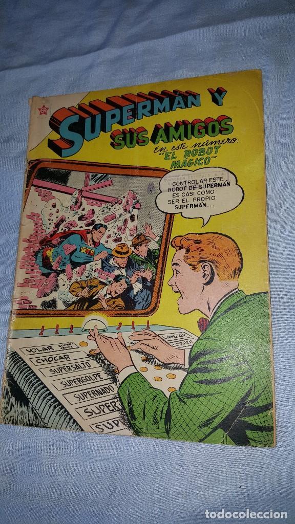 SUPERMAN Y SUS AMIGOS Nº 9 - 01-09-1956 - EL ROBOT MAGICO (Tebeos y Comics - Novaro - Superman)