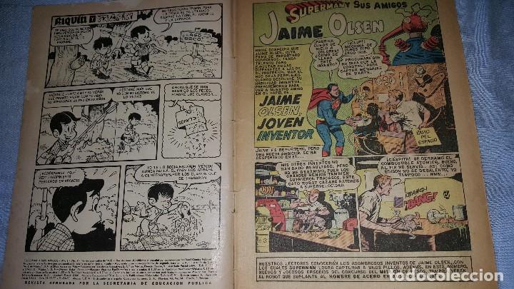 Tebeos: SUPERMAN Y SUS AMIGOS Nº 9 - 01-09-1956 - EL ROBOT MAGICO - Foto 2 - 63482980