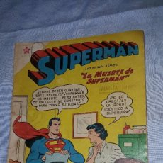 Tebeos: SUPERMAN Nº 162 - 26-11-1958 - LA MUERTE DE SUPERMAN. Lote 63483256