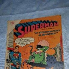 Tebeos: SUPERMAN Nº 124 - 05-03-1958 - LA SUPERAMENAZA DE METROPOLIS. Lote 63484160