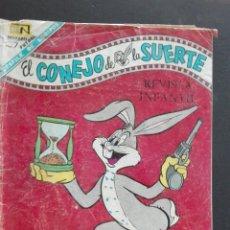 Tebeos: COMIC NOVARO EL CONEJO DE LA SUERTE. Lote 63538566