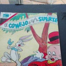 Tebeos: COMICS NOVARO EL CONEJO DE LA SUERTE. Lote 63538767