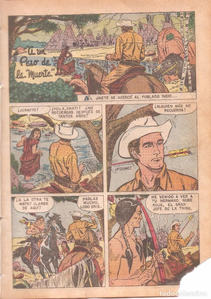 Tebeos: CLÁSICOS DEL CINE - A UN PASO DE LA MUERTE - AÑO I - Nº 8 - EDT. NOVARO - 10 DE JULIO DE 1957. - Foto 3 - 63784719