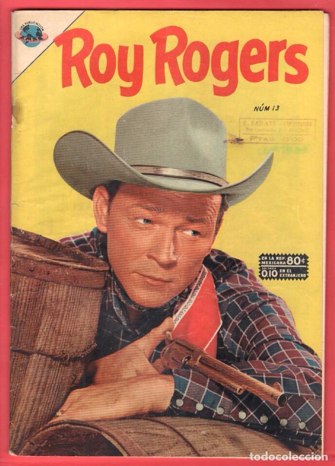 ROY ROGERS Nº 13 EDITORIAL EMSA ( DESPUES SEA- - NOVARO ) SEPTIEMBRE 1953 (Tebeos y Comics - Novaro - Roy Roger)