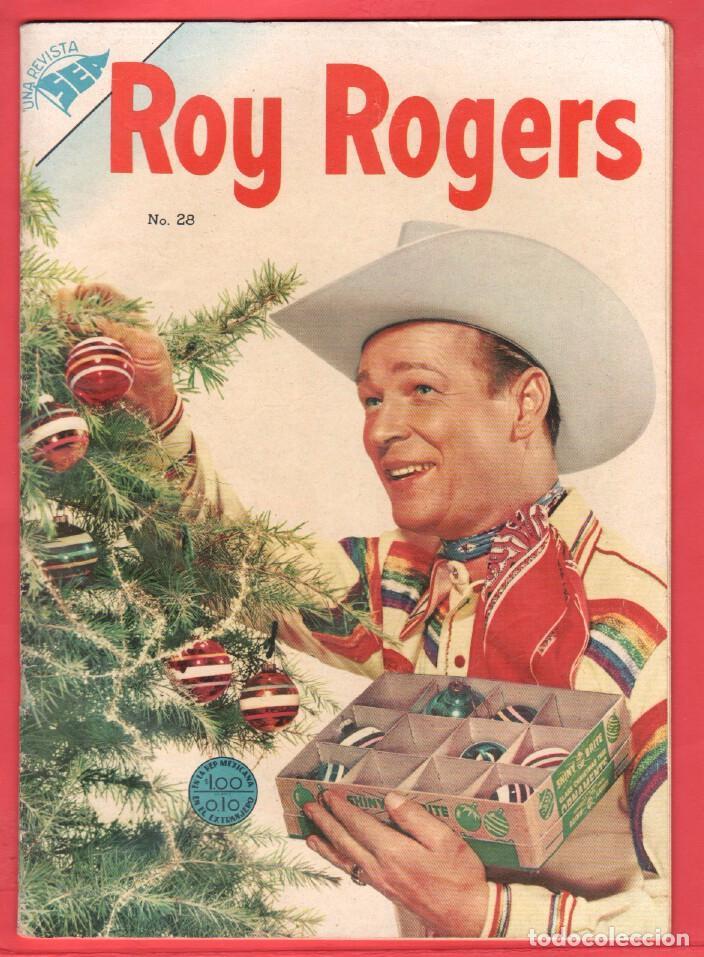 ROY ROGERS Nº 28 EDITORIAL SEA - NOVARO - DICIEMBRE 1954 (Tebeos y Comics - Novaro - Roy Roger)