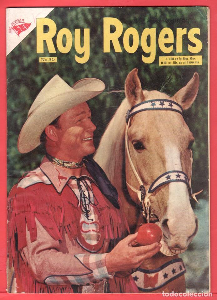 ROY ROGERS Nº 30 EDITORIAL SEA - NOVARO - FEBREO 1955 (Tebeos y Comics - Novaro - Roy Roger)