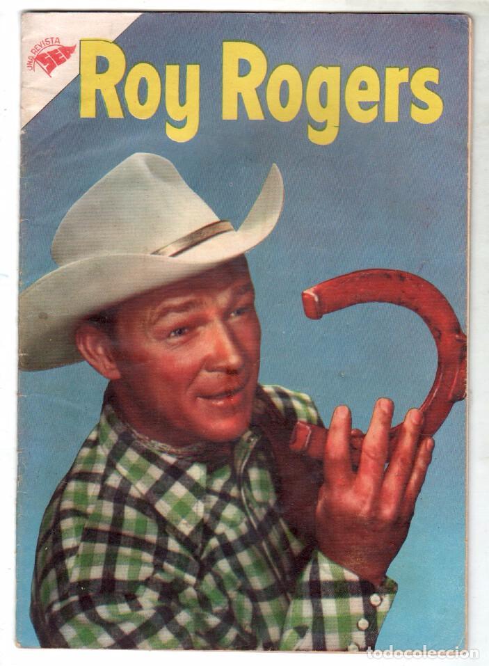 ROY ROGERS Nº 33 EDITORIAL SEA - NOVARO - MAYO 1955 (Tebeos y Comics - Novaro - Roy Roger)
