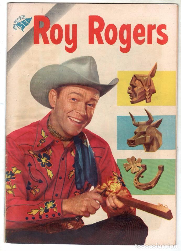 ROY ROGERS Nº 45 EDITORIAL SEA - NOVARO - MAYO 1956 (Tebeos y Comics - Novaro - Roy Roger)