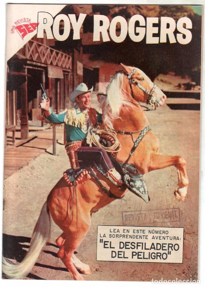 ROY ROGERS Nº 72 EDITORIAL SEA - NOVARO - AGOSTO 1958 (Tebeos y Comics - Novaro - Roy Roger)
