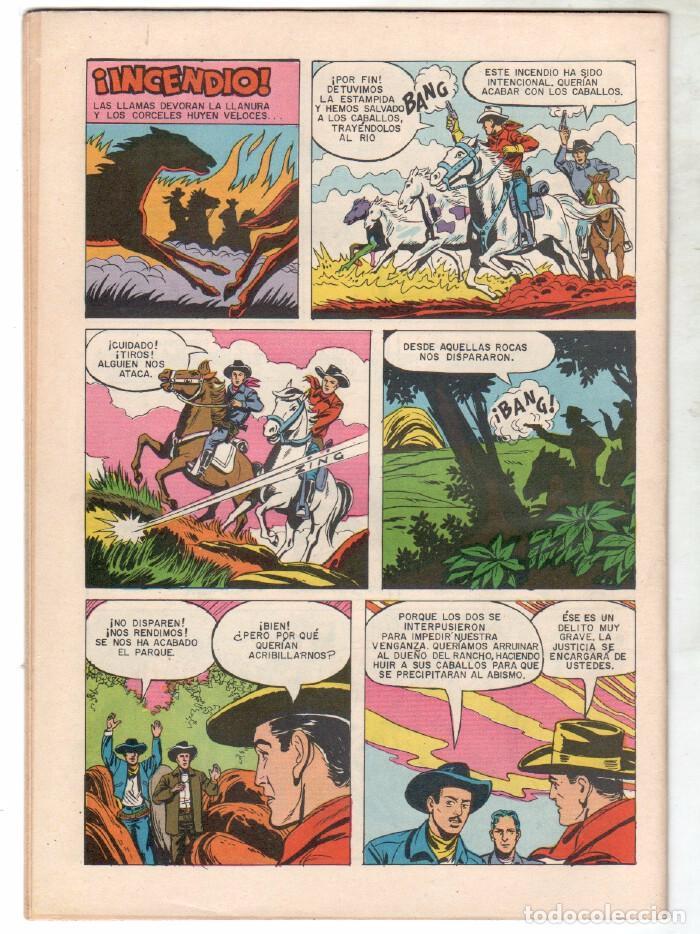 Tebeos: ROY ROGERS Nº 73 EDITORIAL SEA - NOVARO - SEPTIEMBRE 1958 - Foto 2 - 64119035