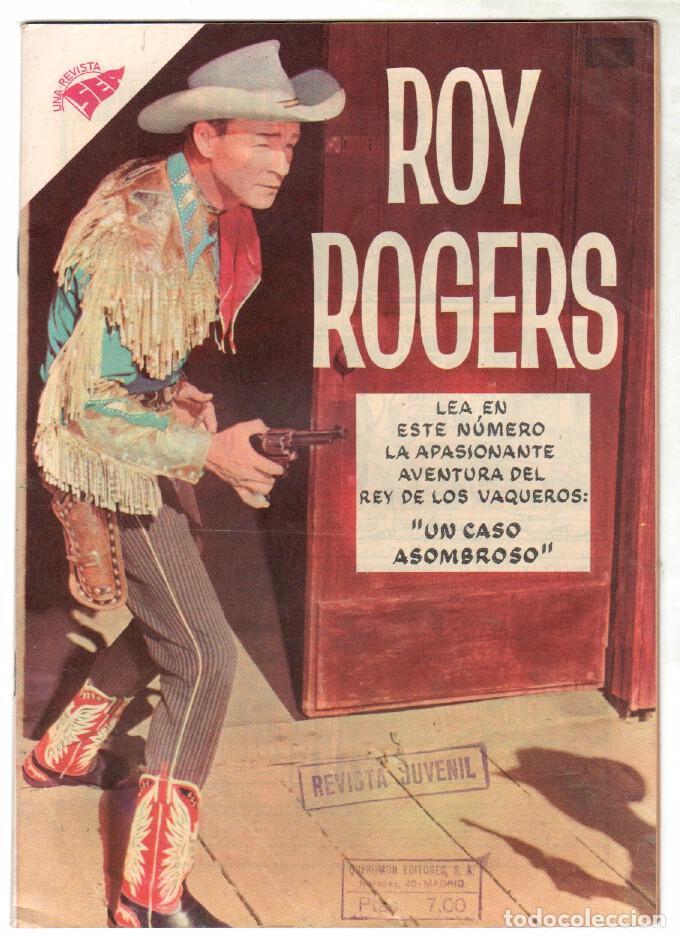 ROY ROGERS Nº 76 EDITORIAL SEA - NOVARO - DICIEMBRE 1958 (Tebeos y Comics - Novaro - Roy Roger)