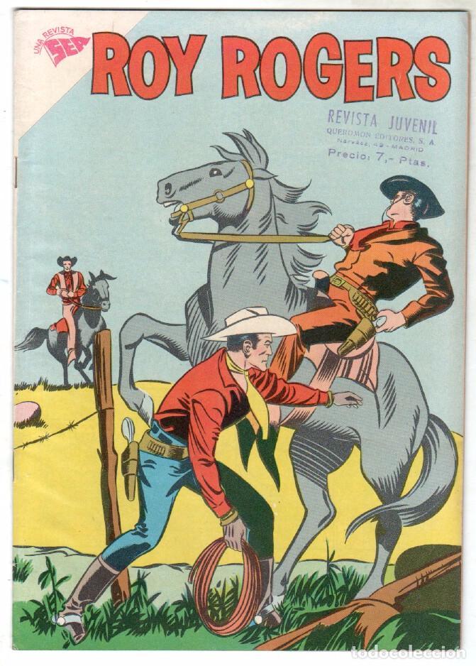 ROY ROGERS Nº 80 EDITORIAL SEA - NOVARO - ABRIL 1959 (Tebeos y Comics - Novaro - Roy Roger)