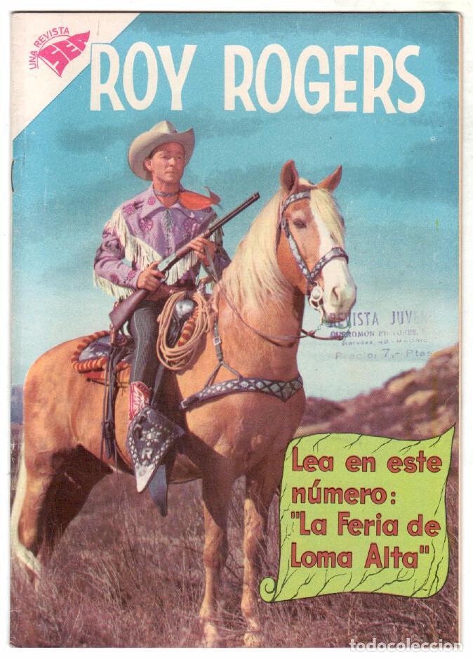 ROY ROGERS Nº 81 EDITORIAL SEA - NOVARO - MAYO 1959 (Tebeos y Comics - Novaro - Roy Roger)