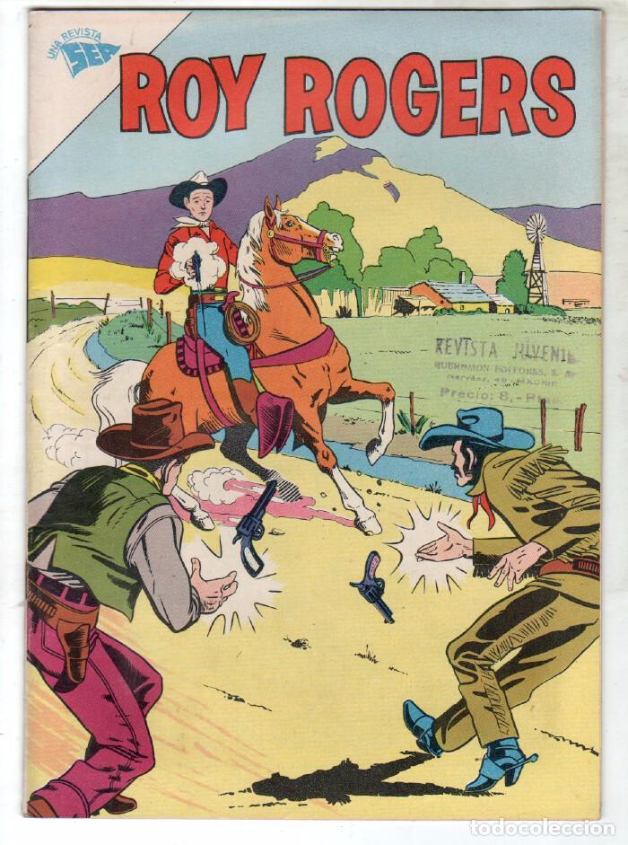 ROY ROGERS Nº 90 EDITORIAL SEA - NOVARO - FEBRERO 1960 (Tebeos y Comics - Novaro - Roy Roger)