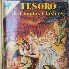 Tebeos: 1 TOMO CON 21 COMICS NOVARO 1959 A 1963 TESORO DE CUENTOS CLASICOS & CLASICOS DEL CINE SHAKESPEARE. Lote 64635983