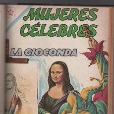 Tebeos: 1 TOMO CON 16 COMICS NOVARO 1961 A 1963 MUJERES CELEBRES LA GIOCONDA CLEOPATRA MATA HARI VICARIO..... Lote 64638239