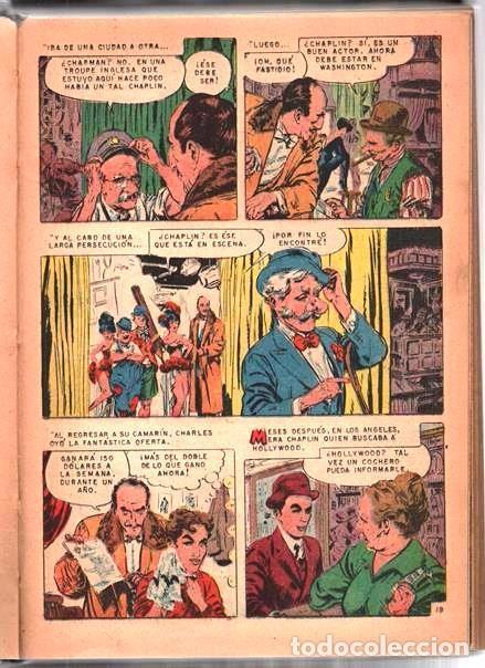 Tebeos: 1 TOMO CON 20 COMICS NOVARO 1958 A 1963 VIDAS ILUSTRES CHAPLIN GARIBALDI TESLA BELL LISZT TWAIN LOND - Foto 3 - 64713199