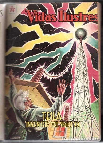 Tebeos: 1 TOMO CON 20 COMICS NOVARO 1958 A 1963 VIDAS ILUSTRES CHAPLIN GARIBALDI TESLA BELL LISZT TWAIN LOND - Foto 8 - 64713199
