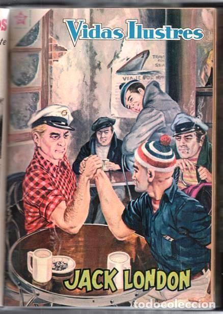 Tebeos: 1 TOMO CON 20 COMICS NOVARO 1958 A 1963 VIDAS ILUSTRES CHAPLIN GARIBALDI TESLA BELL LISZT TWAIN LOND - Foto 15 - 64713199