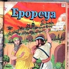 Tebeos: 1 TOMO CON 15 COMICS NOVARO 1958 A 1961 EPOPEYA REVOLUCION FRANCESA AYACUCHO POMPEYA SUEZ CHINA..... Lote 64735127