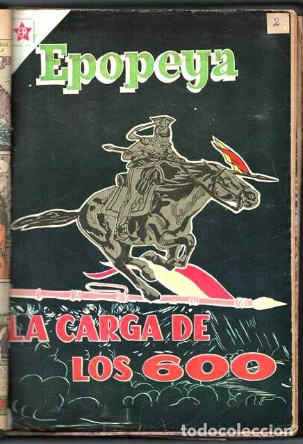 Tebeos: 1 TOMO CON 15 COMICS NOVARO 1958 A 1961 EPOPEYA REVOLUCION FRANCESA AYACUCHO POMPEYA SUEZ CHINA.... - Foto 3 - 64735127