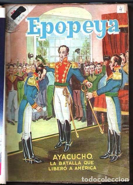 Tebeos: 1 TOMO CON 15 COMICS NOVARO 1958 A 1961 EPOPEYA REVOLUCION FRANCESA AYACUCHO POMPEYA SUEZ CHINA.... - Foto 6 - 64735127