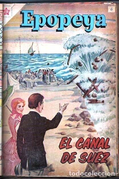 Tebeos: 1 TOMO CON 15 COMICS NOVARO 1958 A 1961 EPOPEYA REVOLUCION FRANCESA AYACUCHO POMPEYA SUEZ CHINA.... - Foto 8 - 64735127