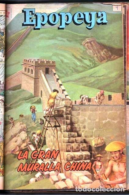 Tebeos: 1 TOMO CON 15 COMICS NOVARO 1958 A 1961 EPOPEYA REVOLUCION FRANCESA AYACUCHO POMPEYA SUEZ CHINA.... - Foto 12 - 64735127