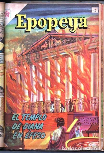 Tebeos: 1 TOMO CON 15 COMICS NOVARO 1958 A 1961 EPOPEYA REVOLUCION FRANCESA AYACUCHO POMPEYA SUEZ CHINA.... - Foto 15 - 64735127