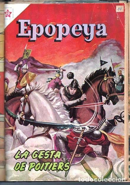 Tebeos: 1 TOMO CON 15 COMICS NOVARO 1958 A 1961 EPOPEYA REVOLUCION FRANCESA AYACUCHO POMPEYA SUEZ CHINA.... - Foto 16 - 64735127