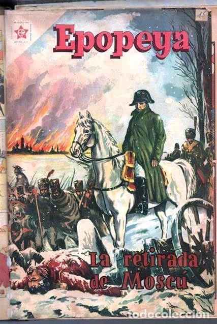 Tebeos: 1 TOMO CON 15 COMICS NOVARO 1958 A 1961 EPOPEYA REVOLUCION FRANCESA AYACUCHO POMPEYA SUEZ CHINA.... - Foto 17 - 64735127